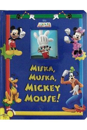 A Casa De Mickey Mouse Miska Muska Mickey Mouse Saraiva