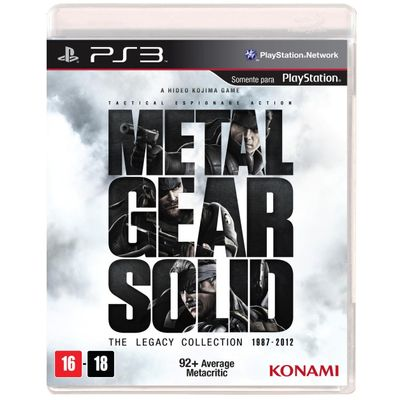 Metal Gear Solid - The Legacy Collection - PS3