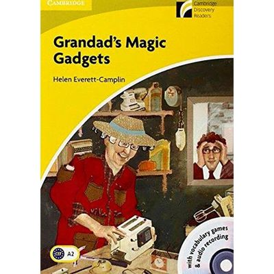 Grandad's Magic Gadgets - with CD-ROM - Cambridge Discovery Readers Level 2