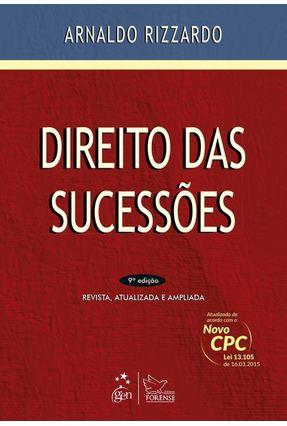 Direito Das Sucessões - 9ª Ed. 2015 - Rizzardo,Arnaldo pdf epub