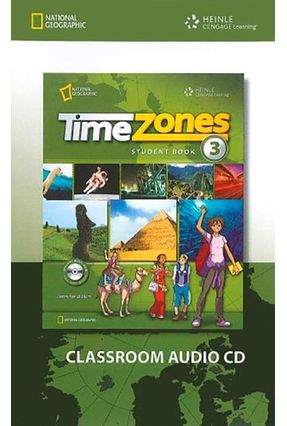 Time Zones 3 - Classroom Audio CD - Maples,Mary Jane Collins,Tim | Hoshan.org