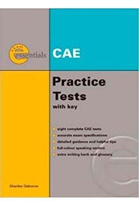 Essential Practice Tests: Cae Practice Tests - Text With Answer Key + Audio Cd´s (2) - Nuttall,Carol Osborne,Charles   Hoshan.org