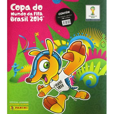 Box Premium - Álbum da Copa do Mundo 2014 - Capa Dura + 30 Envelopes de Figurinhas - Fifa World Cup