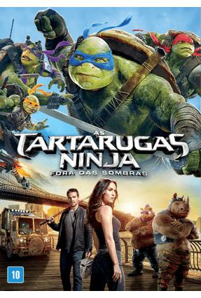 As Tartarugas Ninja Fora Das Sombras Dvd Saraiva