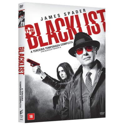 DVD The Blacklist - 3ª Temporada - 6 Discos