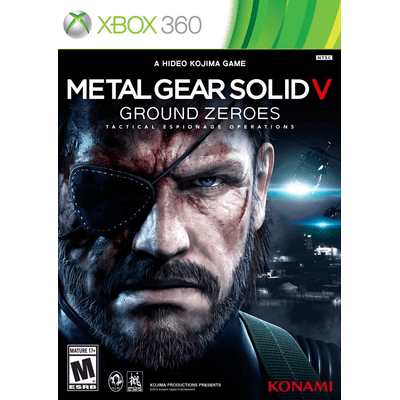Metal Gear Solid V - Ground Zeroes - X360
