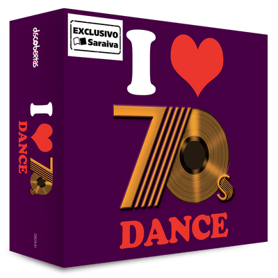 I Love 70´S - Dance - Box Com 3 CDs - Exclusivo
