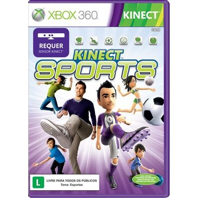 Kinect Sports - Requer Kinect - X360