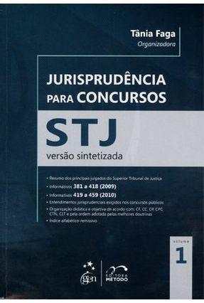 Usado - Jurisprudência Para Concursos - Stj - Versão Sintetizada - Vol. 1 - Faga,Tânia   Hoshan.org
