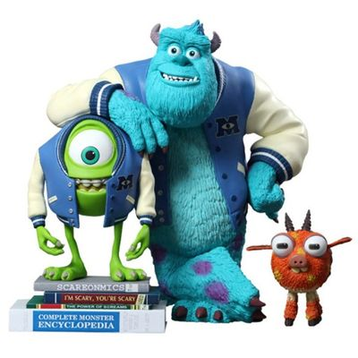Monsters University Mike, Sulley & Archie - Vinyl Collectible Set