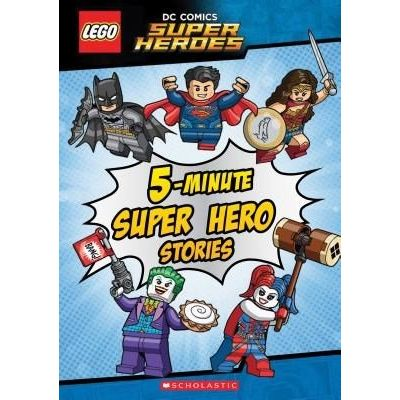 Lego DC Super Heroes - 5-Minute Super Hero Stories