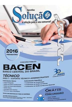 Apostila - Banco Central  do Brasil - Técnico - Solução,Editora   Hoshan.org