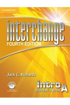 Interchange Intro A - Student's Book With DVD-ROM - 4th Edition
