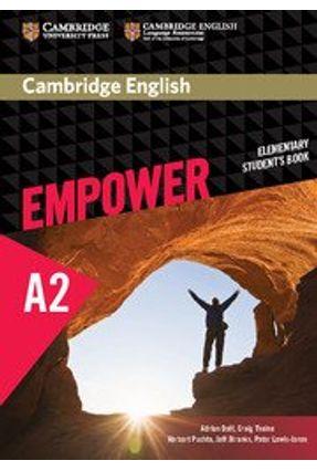 Cambridge English Empower Elementary - Student's Book - Adrian Doff pdf epub