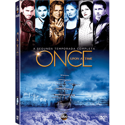 DVD Once Upon A Time - 2ª Temporada - 5 Discos