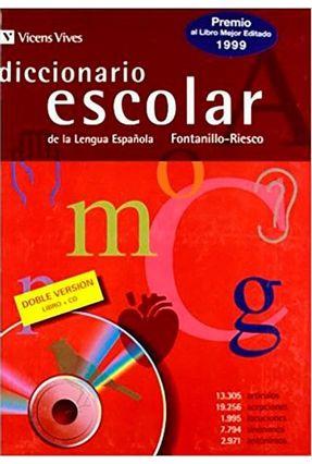 Diccionario Escolar Lengua Espanola C/ Cd-rom - Fontanillo-riesco | Nisrs.org