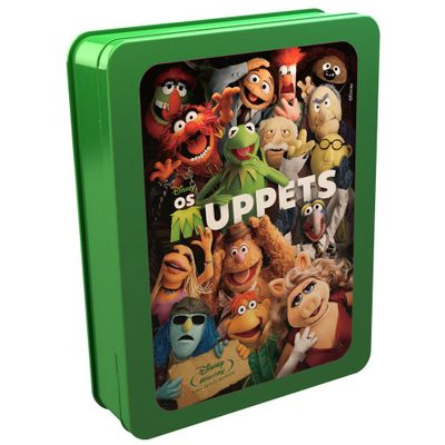 Os Muppets - Lata Com Cards + Blu-ray