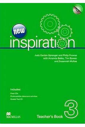 New Inspiration 3 - Teacher's Book Whit Test + Class Audio Cd - P. Prowse J. Garton-Sprenger   Tagrny.org