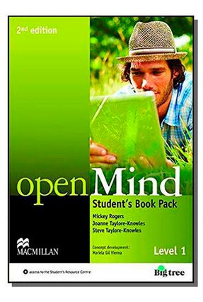 Openmind 1 - Student's Pack With Workbook - 2Nd Edition - Mickey Rogers Steve Taylore-Knowles Joanne Taylore-Knowles pdf epub
