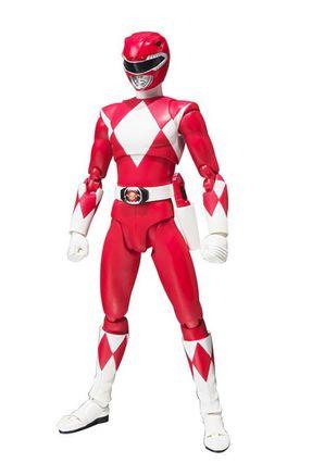 Power Rangers Red Ranger S H Figuarts Saraiva