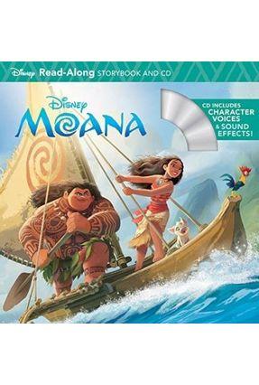 Moana Read-Along Storybook & CD - Disney Publishing   Hoshan.org