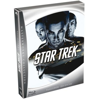 Star Trek: Masterworks Collection - Blu-Ray + Livro - Exclusivo