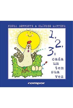 123: Cada Um Tem Sua Vez - Martins,Cláudio   Hoshan.org