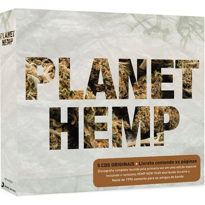 Planet Hemp - Box Com 5 CDs