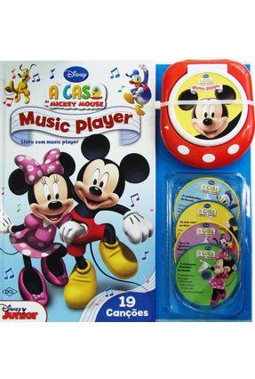Disney: Music Player - a Casa do Mickey Mouse - 19 Canções - Dcl,Editora | Hoshan.org