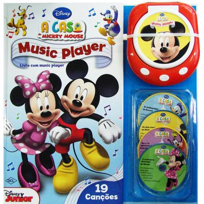 Disney: Music Player - a Casa do Mickey Mouse - 19 Canções