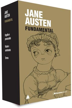 Jane Austen Fundamental - Caixa Com 3 Livros - Col. Saraiva de Bolso