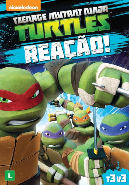 Teenage Mutant Ninja Turtles Reacao Dvd Saraiva