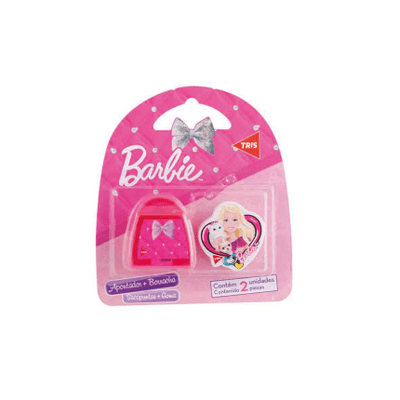 Basic Set Borracha e Apontador Barbie