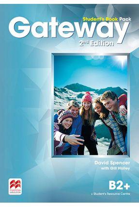 Bandeirantes - Gateway 2Nd Edit.Student's Book Pack & Dsb-B2+ - David Spencer   Nisrs.org