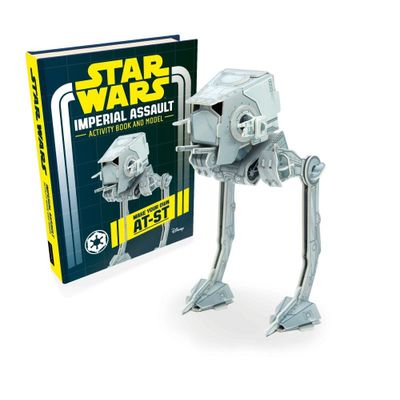 Star Wars Imperial Assault Book and Model - Make Your Own AT-ST