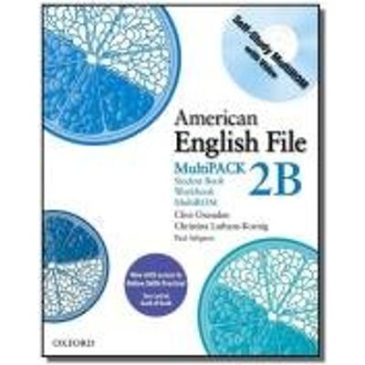 AMERICAN ENGLISH FILE MULTIPACK 2B - 1ST