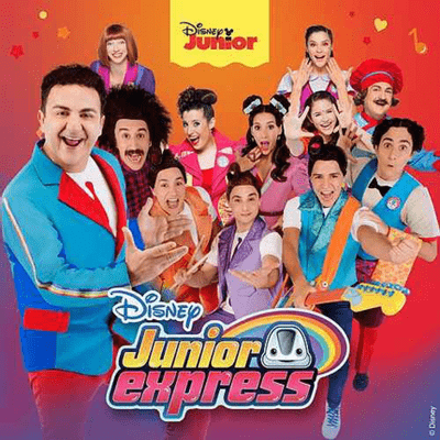 Elenco Junior Express - Junior Express - Disney