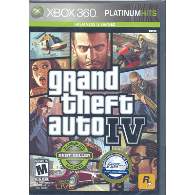 GTA - Grand Theft Auto IV - Importado - X360