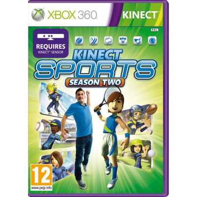 Kinect Sports 2 - Requer Kinect - X360