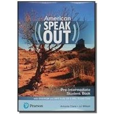 AMERICAN SPEAKOUT PRE-INTERMEDIATE SB WITH DVD-ROM AND MP3 AUDIO CD E MYENGLISHLAB - 2ND ED