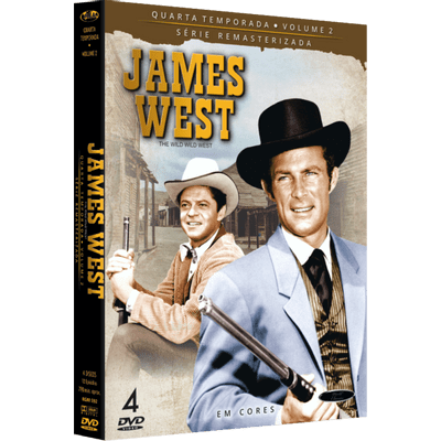 DVD James West - 4 Temporada - Vol. 2 - 4 Discos