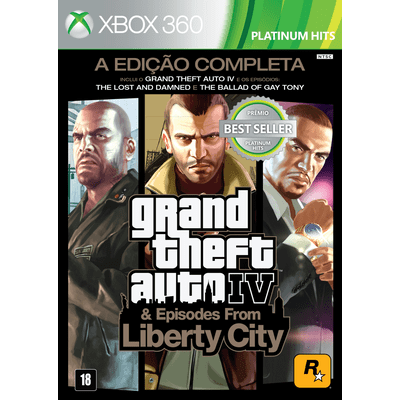 Grand Theft Auto IV & Episodes From Liberty City - The Complete Edition - X360