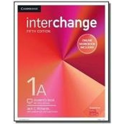Interchange 1A Student´S Book With Online Self-Study And Online Workbook - 5Th Ed