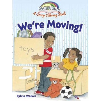 Storyland - We're Moving! - A Story Coloring Book