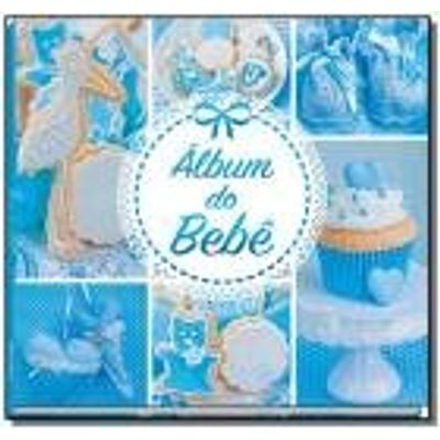 ALBUM DO BEBE - AZUL                            01