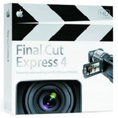 Reembalado - Final Cut Express 4.0 Upgrade Do1 Ao 3.5 Apple Mb339z/A