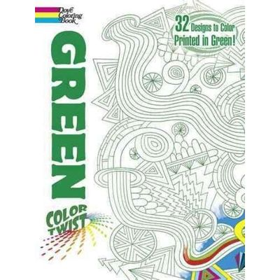 Colortwist - Green Coloring Book