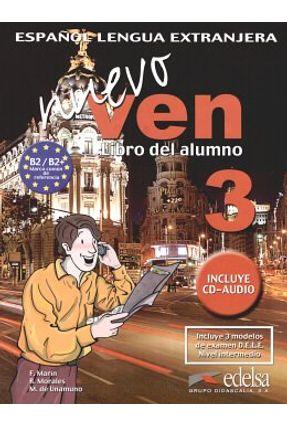 Nuevo Ven 3 Libro Del Alumno + CD Áudio - Edelsa   Hoshan.org