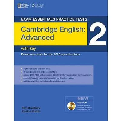 Exam Essentials Practice Tests - Cambridge English Advanced 2 - With Key + DVD-ROM