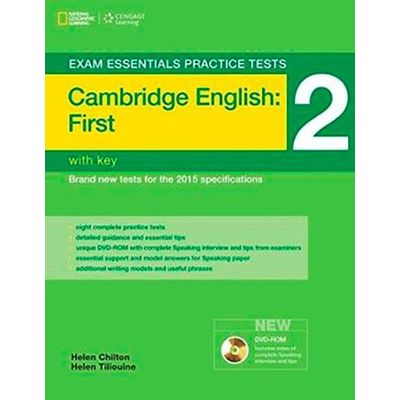Exam Essentials Practice Tests - Cambridge English First 2 - With Key + DVD-ROM